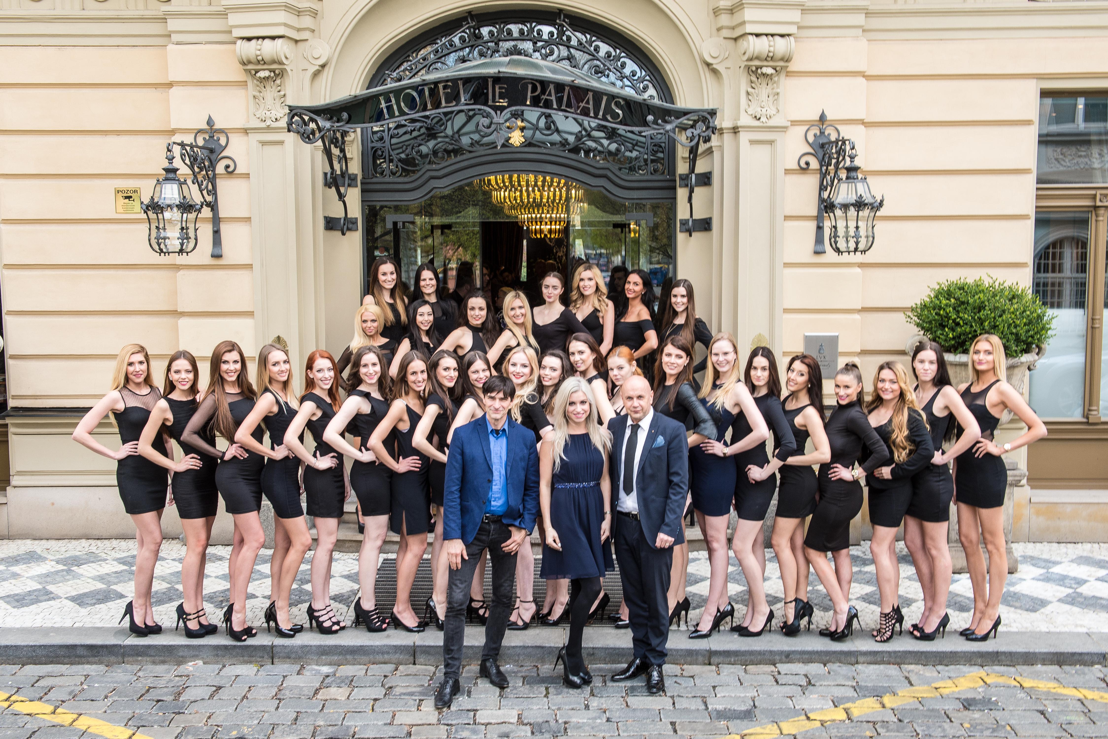 Hotel Le Palais hostil casting prestižní soutěže krásy TOP MODEL OF THE YEAR 2017